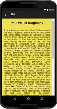 Paul Weller Music&Lyrics screenshot 1
