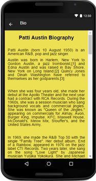 Patti Austin Music&Lyrics screenshot 1