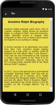 Anselmo Ralph Music&Lyrics screenshot 1