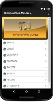 Hugh Masekela Music&Lyrics poster