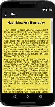 Hugh Masekela Music&Lyrics screenshot 1
