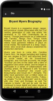 Bryant Myers Music&Lyrics apk screenshot