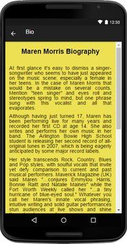 Maren Morris Music&Lyrics screenshot 1