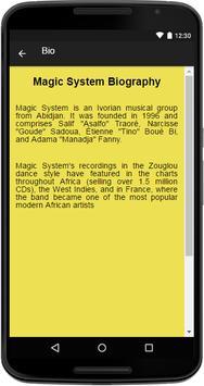 Magic System Music&Lyrics screenshot 1