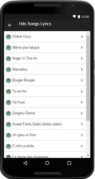 Magic System Music&Lyrics screenshot 2