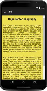 Buju Banton Music&Lyrics screenshot 1