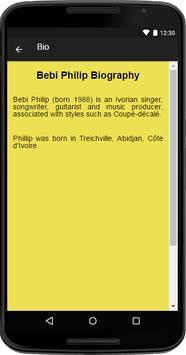 Bebi Philip Music&Lyrics apk screenshot