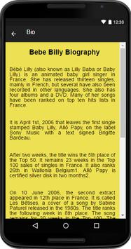 Bebe Billy Music&Lyrics apk screenshot