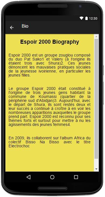 ESPOIR FAROT TÉLÉCHARGER 2000 ABIDJAN