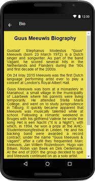 Guus Meeuwis Music&Lyrics screenshot 1