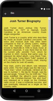 Josh Turner Music&Lyrics apk screenshot