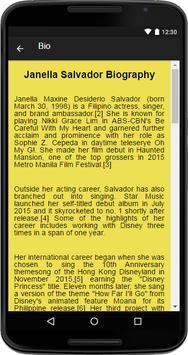Janella Salvador Music&Lyrics apk screenshot