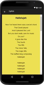 Leonard Cohen Music&Lyrics screenshot 3