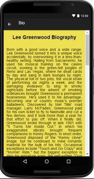Lee Greenwood Music&Lyrics screenshot 1