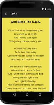 Lee Greenwood Music&Lyrics screenshot 3