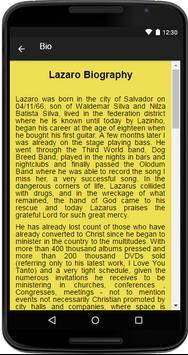 Lazaro Music&Lyrics screenshot 1