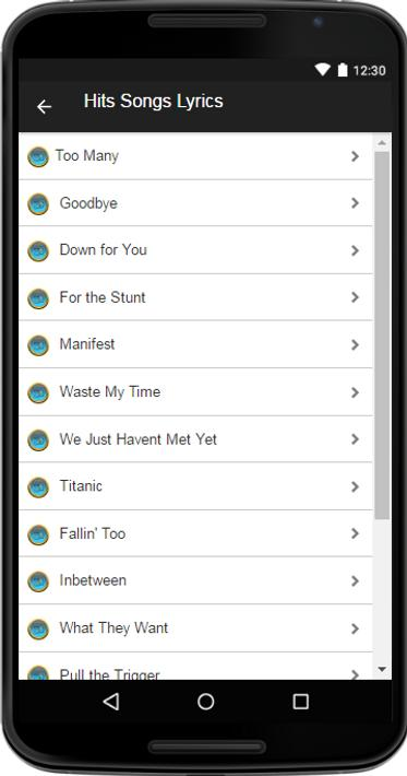 Russ Music&Lyrics for Android - APK Download