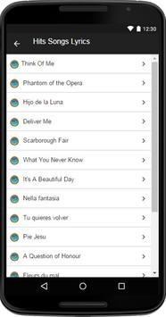 Sarah Brightman Music&Lyrics screenshot 2