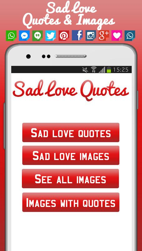 Love Quotes App Enchanting Sad Love Quotes Images APK Download Free Entertainment APP For