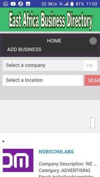 East Africa Business Directory screenshot 2
