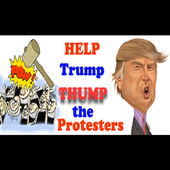 TRUMP THUMPS PROTESTERS *NEW* icon