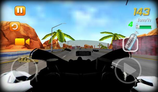 Traffic Bike Racing screenshot 1