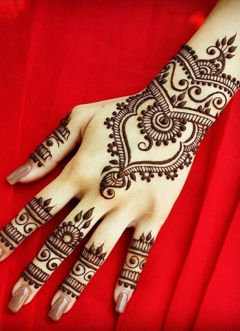 صور نقش الحناء Hand Henna Legs