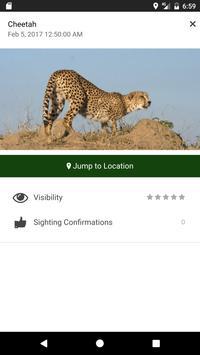 Kruger Sightings apk screenshot