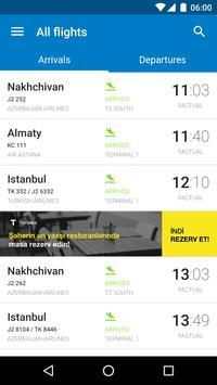 Baku Airport poster