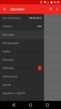 Bakcell Rouminq screenshot 3