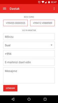 Bakcell Rouminq screenshot 5