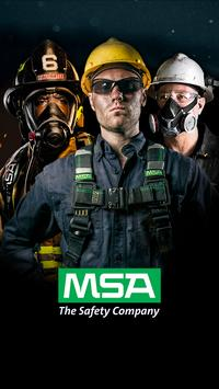 MSA Safety Events poster
