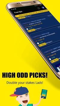 Safe Bet Tips - Betting Predictions apk screenshot