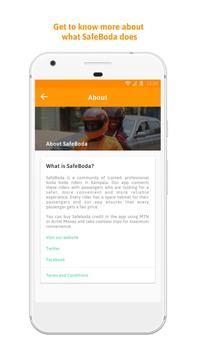 SafeBoda apk screenshot
