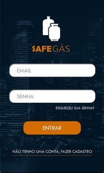 Safe Gás poster