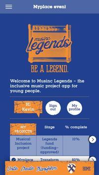 musinc Legends poster