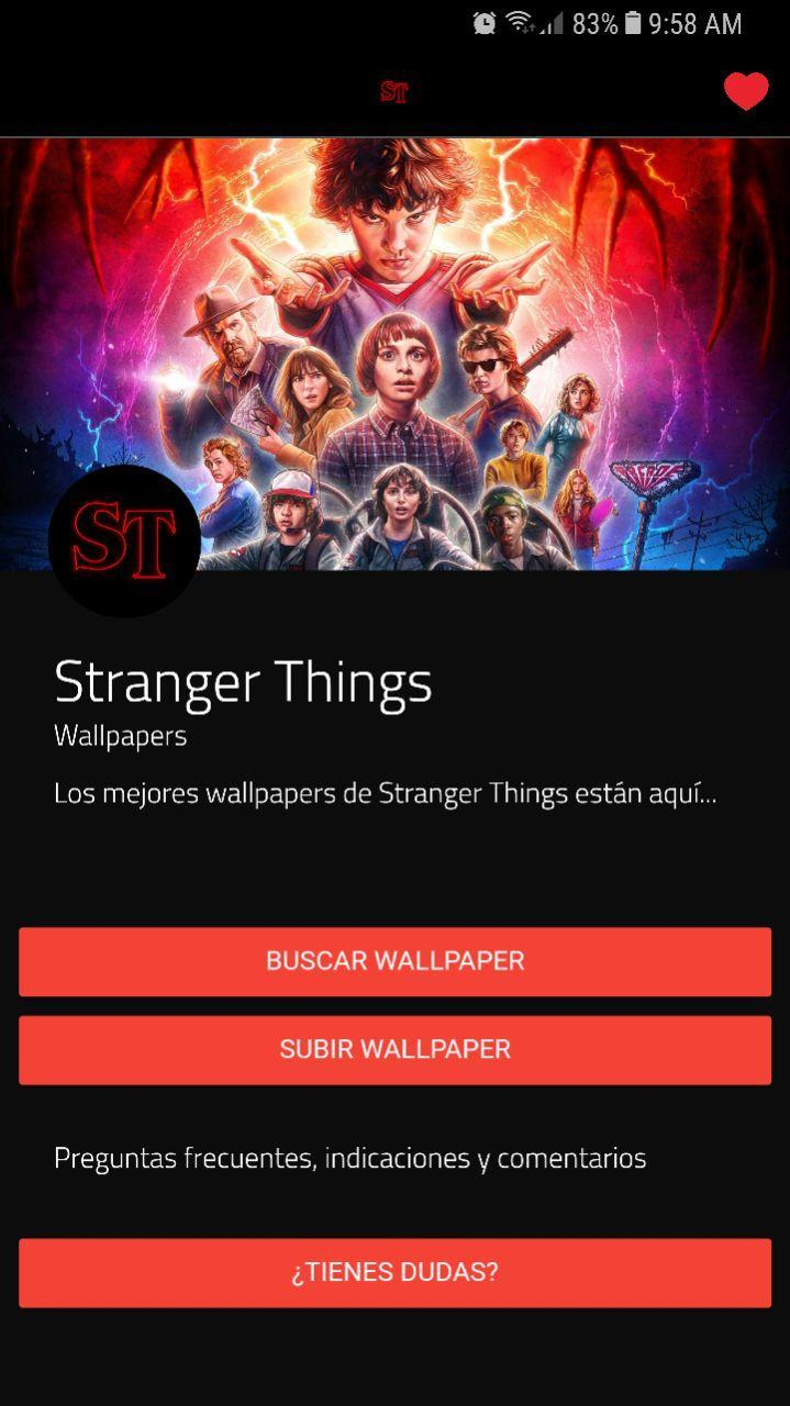 Stranger Things Wallpapers For Android Apk Download