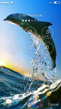 Dolphin Lock Screen poster