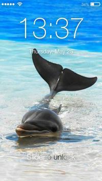 Dolphin Lock Screen screenshot 2