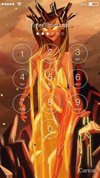 Lava Queen Lock Screen apk screenshot