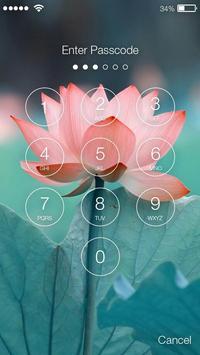 Lotus Lock Screen apk screenshot