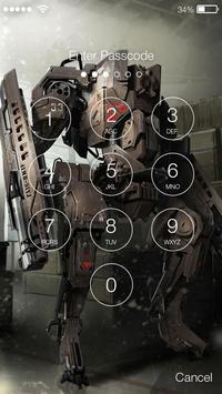 NanoSUIT Screen lock apk screenshot