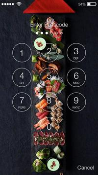 Sushi Lock Screen screenshot 1