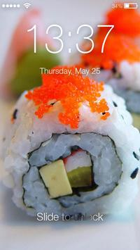 Sushi Lock Screen screenshot 2