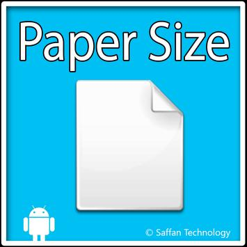 Paper Size poster