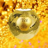 Gold Magic 8-Ball Yes/No icon