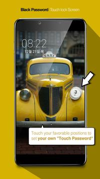 Touch Lock Screen- Easy & strong Black Password screenshot 4