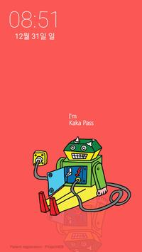 깍까 패스 KaKa Password [ 증정용 ] - 귀여운 깍까로 핸드폰 잠금과 해제를 screenshot 3