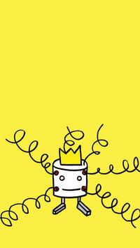4 Schermata 깍까 패스 KaKa Password [ 증정용 ] - 귀여운 깍까로 핸드폰 잠금과 해제를
