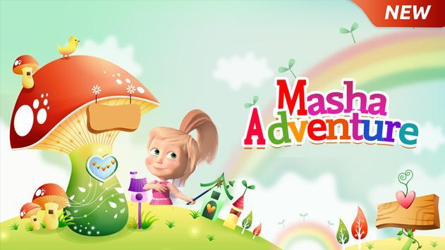 Masha Adventure Run apk screenshot
